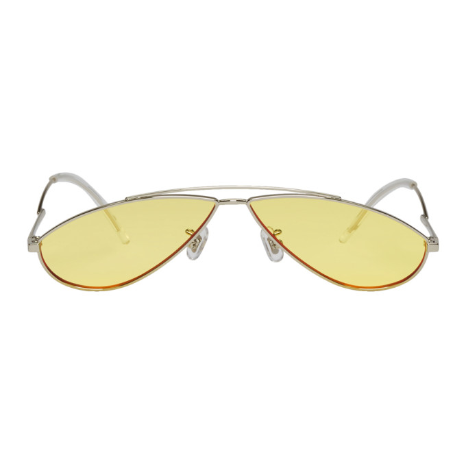 Silver and Yellow Kujo Sunglasses