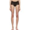 Black Cornely Lace Bikini Bottoms