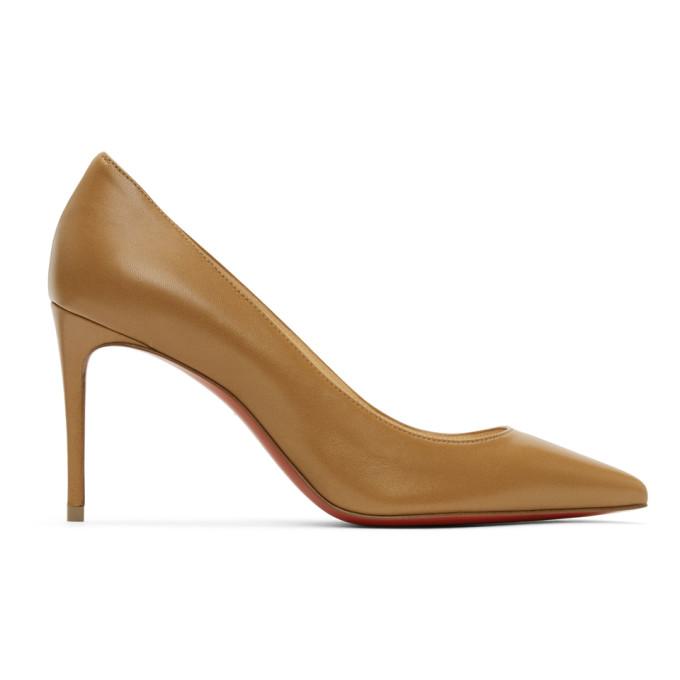 Brown Nappa Kate 85 Heels