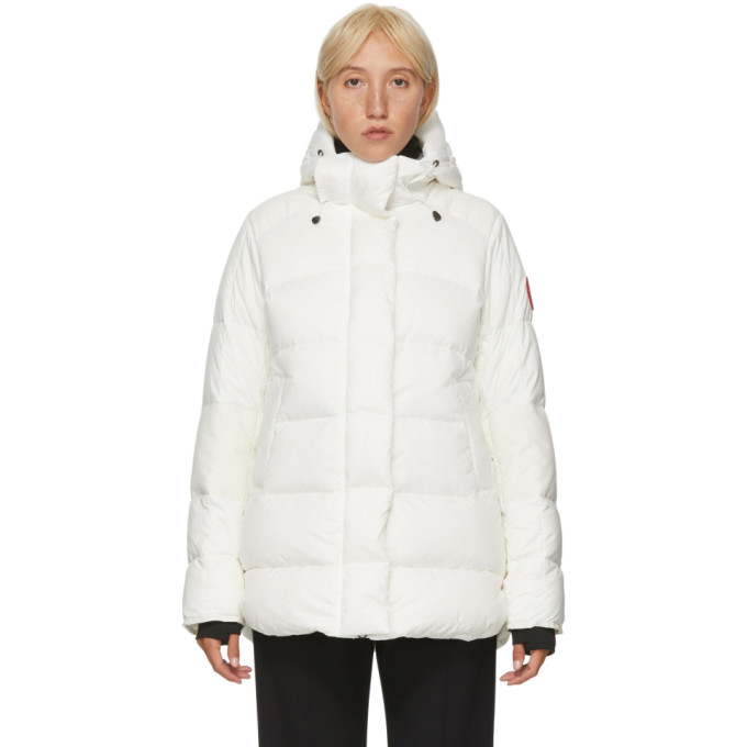 White Down Alliston Jacket