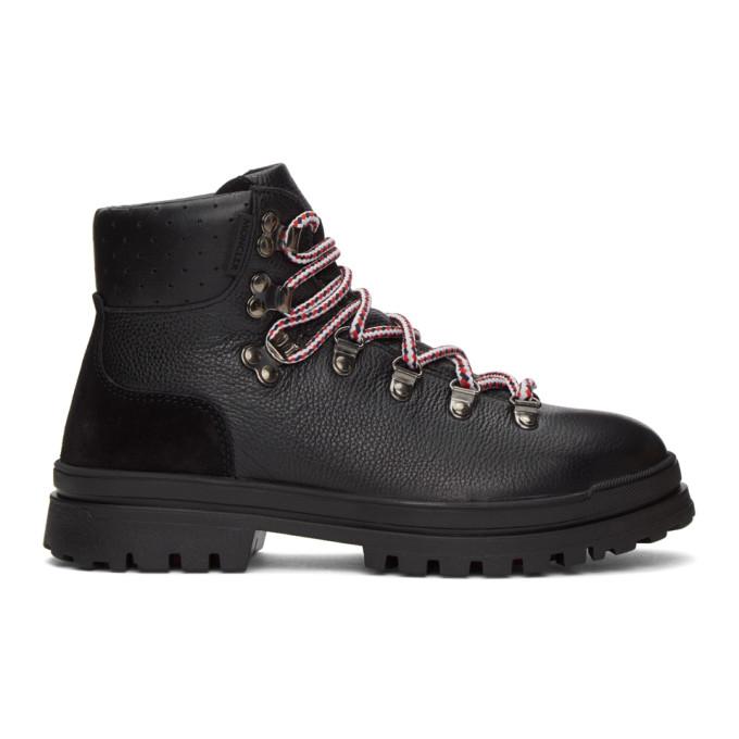 Black Trekset Ankle Boots