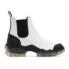 White Hanya Chelsea Boots