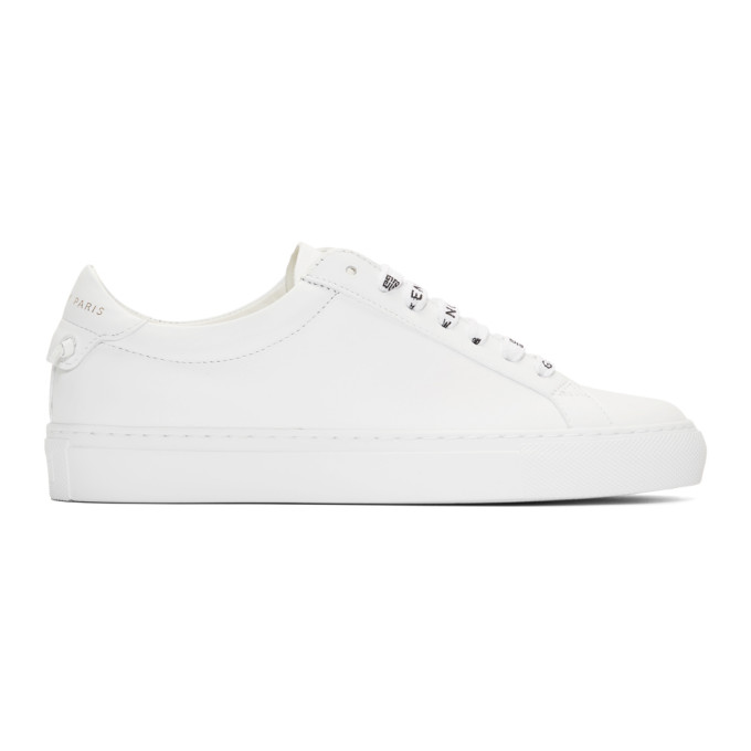 White Logo Laces Urban Street Sneakers