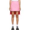 Pink Gail Quilted Miniskirt