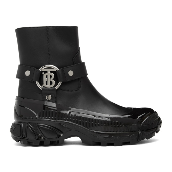 Black Mallory Boots