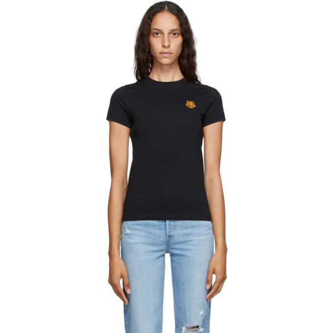 Black Tiger Crest T-Shirt