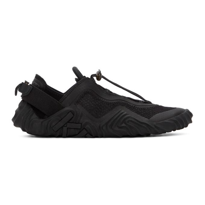 Black Wave Sneakers