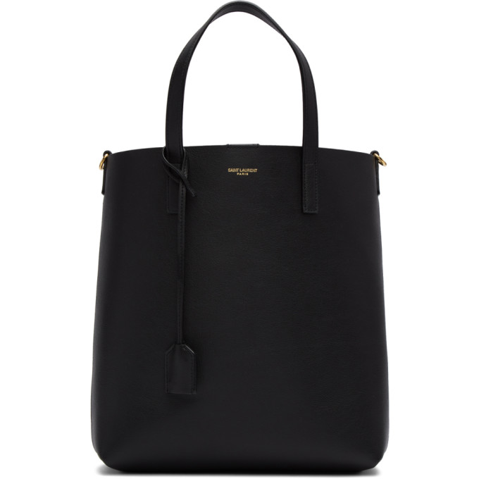 Black Toy North/South Shopping Tote