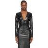 Black Latex Bodysuit