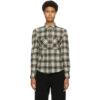Black and White Check Falco Shirt