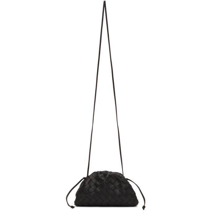 Black Intrecciato Small The Pouch Clutch