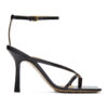 Black Stretch Sandals