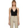 Black Cashmere Bodysuit