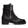 Black Leather En Hiver Ankle Boots