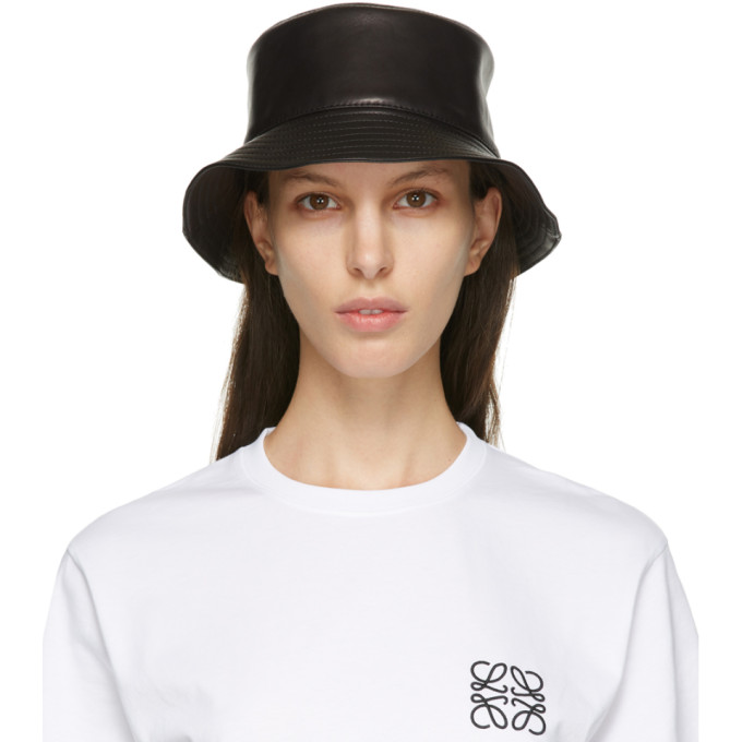 Black Fisherman Bucket Hat