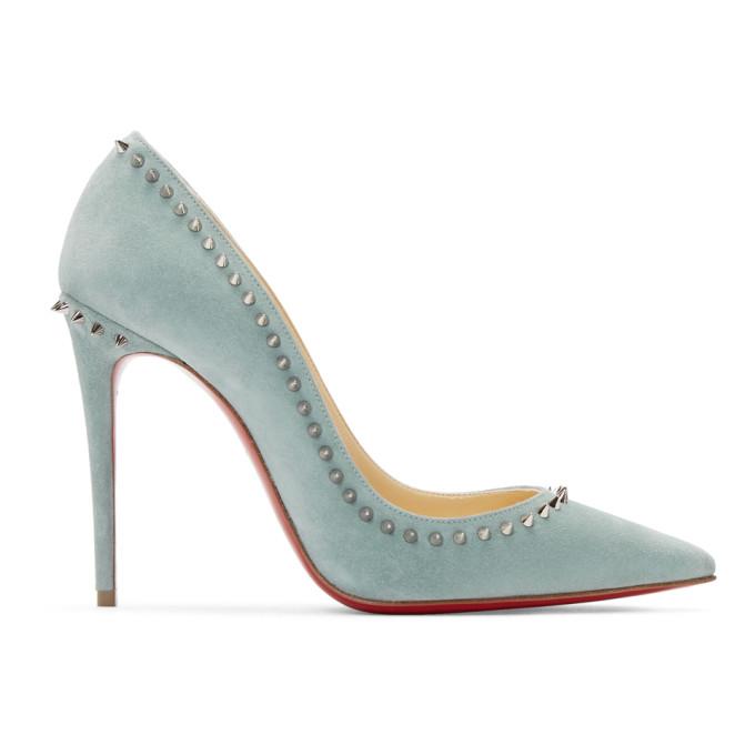 Blue Anjalina 100 Heels