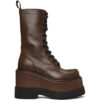 Brown Medium Platform Boots