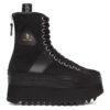 Black Tall Winter Platform Boots