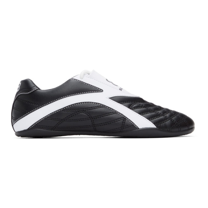 Black and White Zen Sneakers