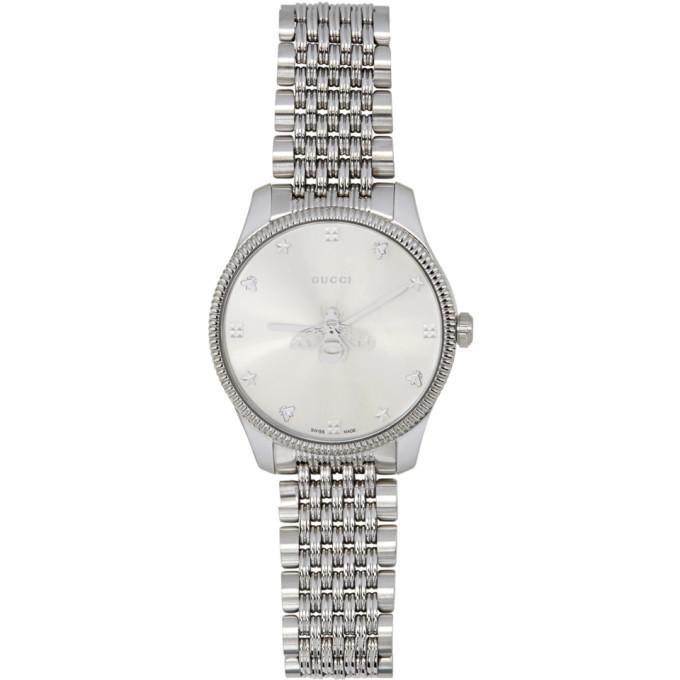 Silver G-Timeless Watch