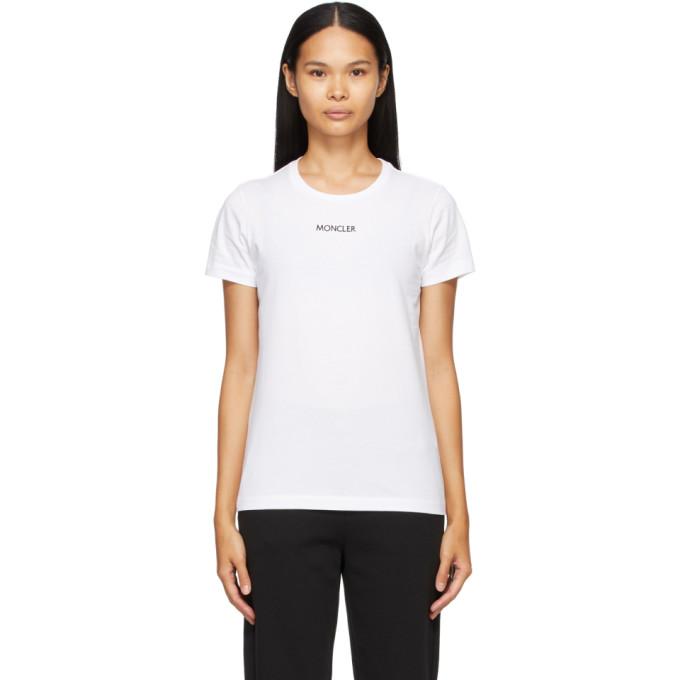 White Logo Type T-Shirt