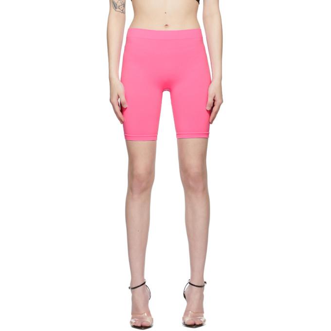 Pink Jersey Bike Shorts