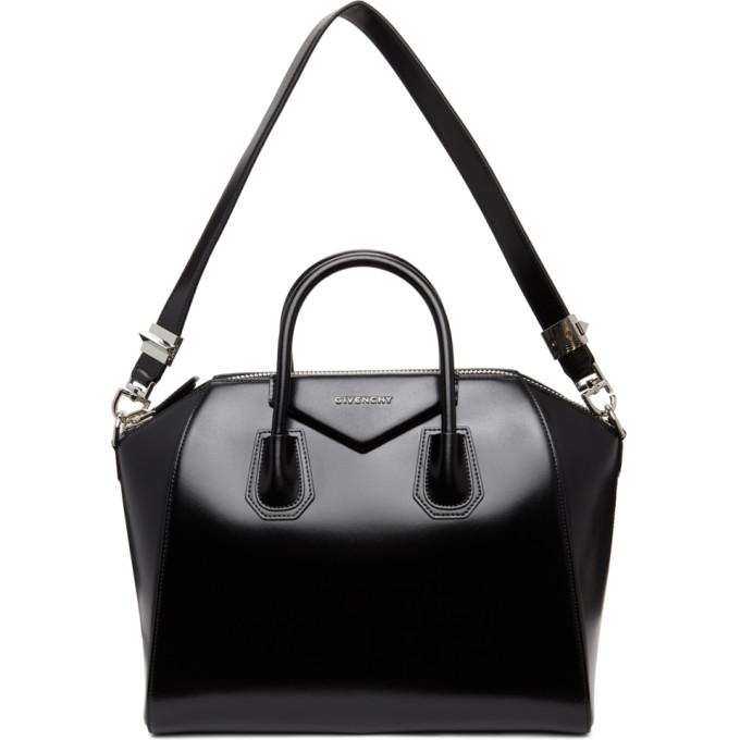 Black Medium Antigona Bag