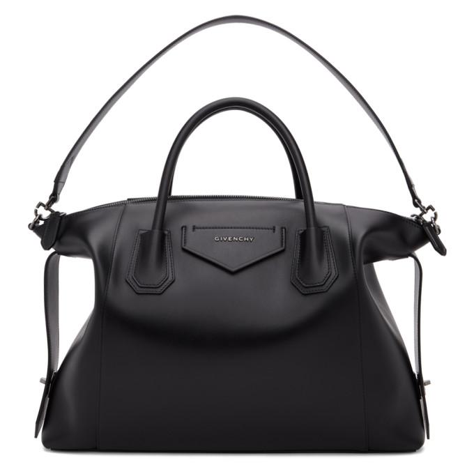 Black Medium Soft Antigona Bag