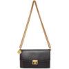 Black and Grey Suede GV3 Wallet Bag