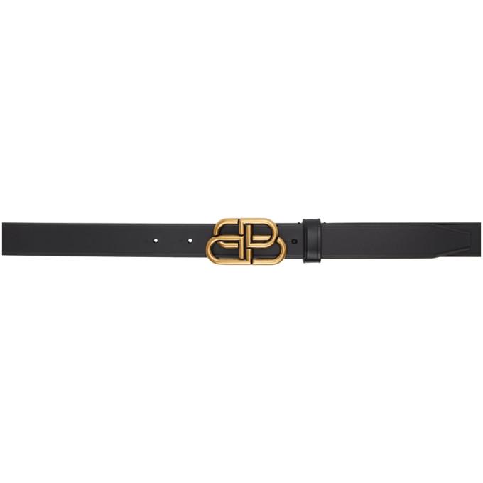 Black Thin BB Belt