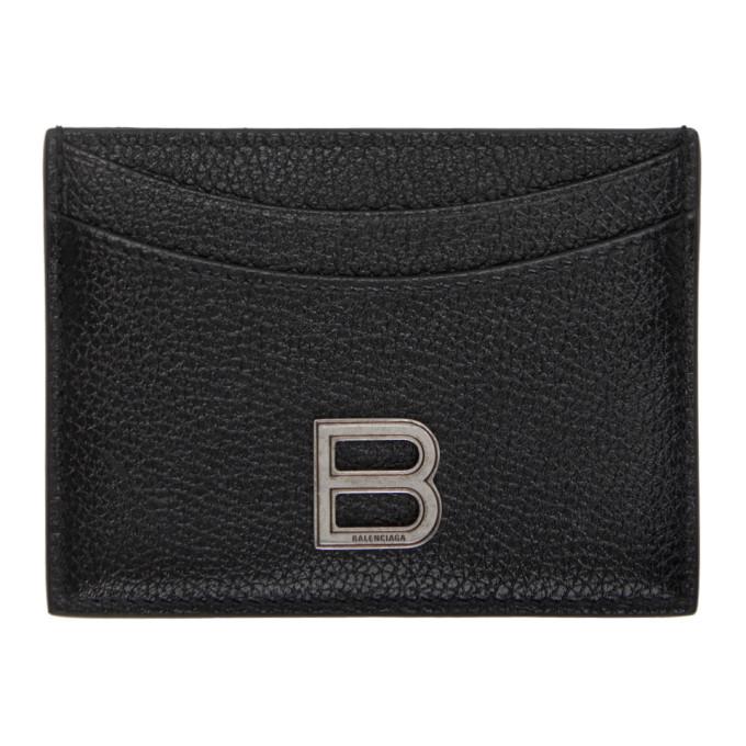 Black Hourglass Card Holder