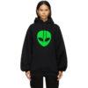 Black Alien Sport Hoodie