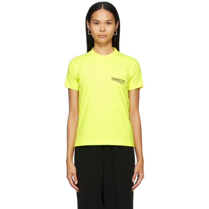 Yellow Political Campaign T-Shirt