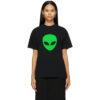 Black Alien Medium Fit T-Shirt