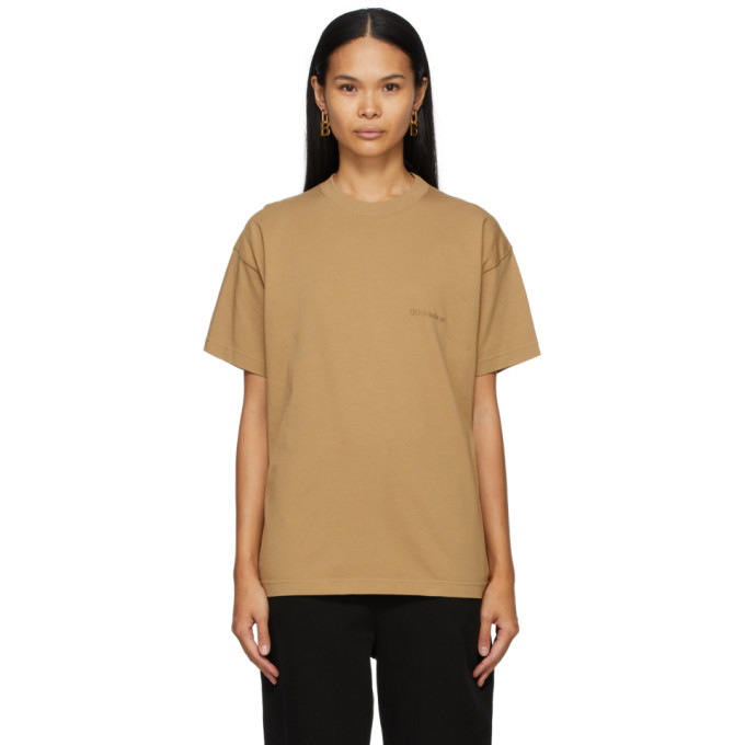 Tan Medium Fit T-Shirt