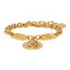 Gold Icon Medusa Bracelet