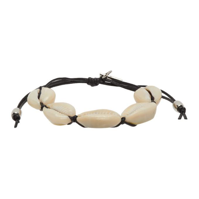 Black Cowrie Shell Bracelet