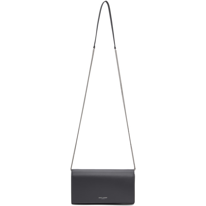 Grey Mini Flap Bag