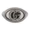 Silver Double G Marmont Pinky Ring