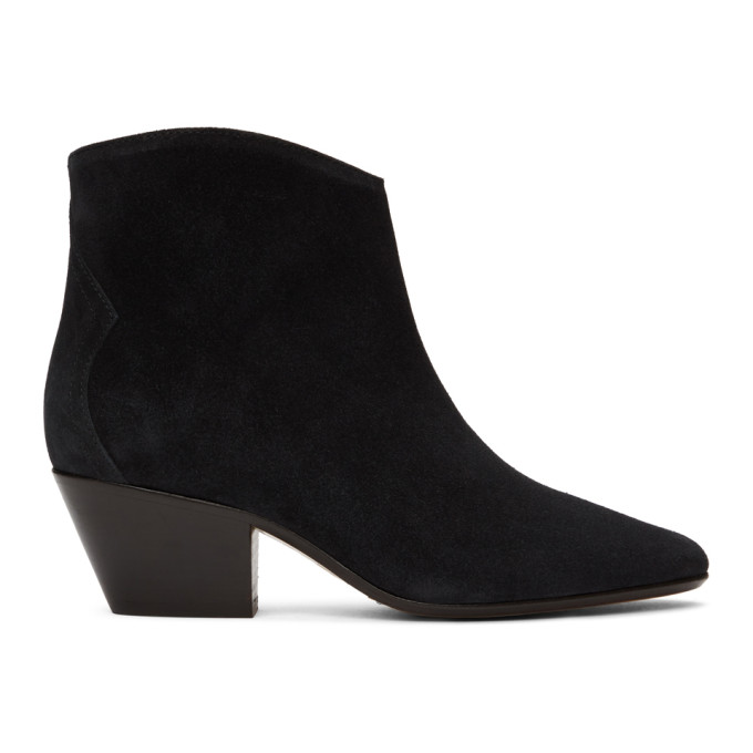 Black Dacken Ankle Boots