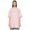 Pink Friendly Logo T-Shirt