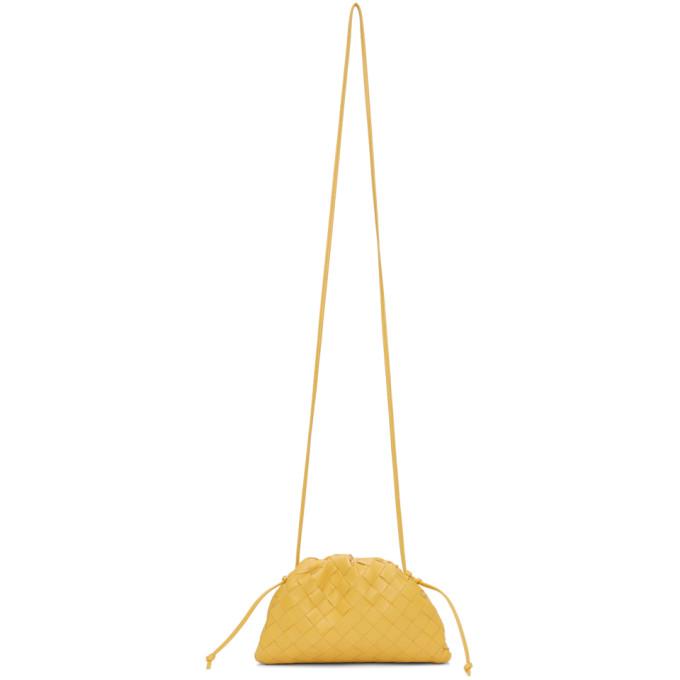 Yellow Intrecciato ?€˜The Mini Pouch?€™ Clutch